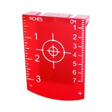 Мишень для лазерных уровней магнитная